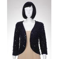 Beaded Knit Cardigan
